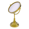 Allied Brass Brass Magnifying Countertop Vanity Mirror
