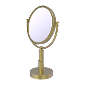 Countertop Zip Bolts : ... Brass Tribeca Brass Magnifying Countertop Vanity Mirror at Lowes.com
