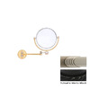 Allied Brass Black Brass Magnifying Wall-Mounted Vanity Mirror