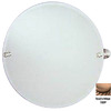 Allied Brass 22-in H x 22-in W Waverly Place Round Frameless Bathroom Mirror with Beveled Edges