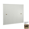 Allied Brass 21-in H x 26-in W Waverly Place Rectangular Frameless Bathroom Mirror with Beveled Edges