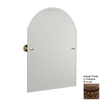 Allied Brass 29-in H x 21-in W Waverly Place Shapes Frameless Bathroom Mirror with Beveled Edges