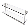 Allied Brass Prestige Regal Satin Nickel Brass Bathroom Shelf
