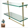 Allied Brass Prestige Regal Antique Copper Brass Bathroom Shelf