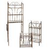 Boston Loft Furnishings 3-Piece Rubbed Bronze Scroll Metal Bathroom Shelf Set