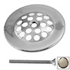 Westbrass Stainless Steel Gerber Beehive Style Bathtub Overflow Grid