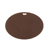 The Original Grill Pad 30-in L x 42-in W Earthtone Brown Fiber Cement Oval Grill Mat