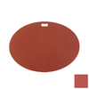 The Original Grill Pad 30-in L x 42-in W Brick Red Fiber Cement Oval Grill Mat