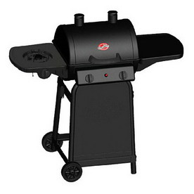Char-Griller 1-Burner (26000 BTU) Liquid Propane Gas Grill