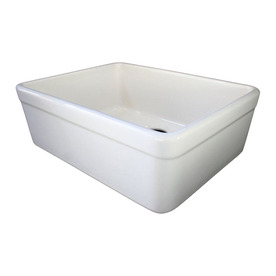 ... Single-Basin Apron Front/Farmhouse Fireclay Kitchen Sink at Lowes.com