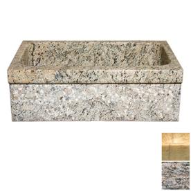 Granite Apron Front Sink : ... Single-Basin Apron Front/Farmhouse Granite Kitchen Sink at Lowes.com