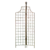 H. Potter 35-in W x 77-in H Charcoal Brown Panel Garden Trellis