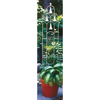 H. Potter 11-in W x 54-in H Pewter Arched Garden Trellis