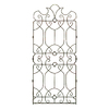 H. Potter 32-in W x 72-in H Charcoal Brown Trellis
