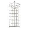 H. Potter 32-in W x 72-in H Charcoal Brown Panel Garden Trellis