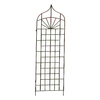 H. Potter 24-in W x 62-in H Charcoal Brown Trellis