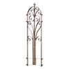 H. Potter 20-in W x 60-in H Charcoal Brown Arched Garden Trellis