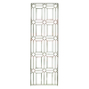 H. Potter 24-in W x 72-in H Charcoal Brown Panel Garden Trellis