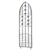 H. Potter 22.5-in W x 65-in H Charcoal Brown Love Knots Garden Trellis