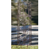 H. Potter 22-in W x 59-in H Charcoal Brown Leaf Garden Trellis