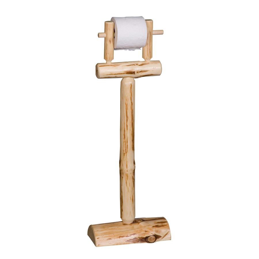 Shop Viking Industries Log Clear Freestanding Floor Toilet