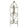 Woodland Imports 13-in W x 53-in H Bronze Arched Garden Trellis