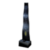 midwest tropical Indoor Waterfall Tropical 1-Tier Indoor Fountain with Pump