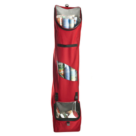 TreeKeeper Santas Bags Hanging Gift Wrap Bag  10-in W x 52-in H x 6-in D Red