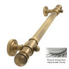 Allied Brass 24-in Satin Chrome Grab Bar
