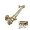 Allied Brass 16-in Antique Brass Grab Bar