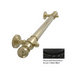 Allied Brass 16-in Matte Black Grab Bar