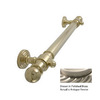 Allied Brass 16-in Antique Pewter Grab Bar