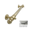 Allied Brass 16-in Satin Chrome Grab Bar