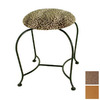 Grace Collection 18-in H Burnished Copper Round Makeup Vanity Stool