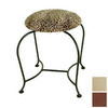 Grace Collection 18-in H Stone Round Makeup Vanity Stool