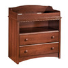 South Shore Furniture 35-1/2-in W Royal Cherry Surface-Mount Baby Changing Station