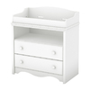 South Shore Furniture 35-1/2-in W Pure White Surface-Mount Baby Changing Station