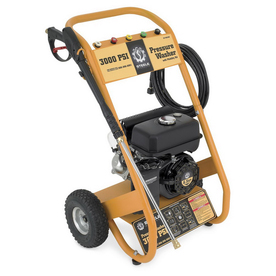 Steele Products 3,000-PSI 2.5- Gallon Cold Water Gas Pressure Washer