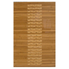 Anji Mountain 36-in x 24-in Brown Wood Bath Mat