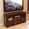 Hospitality Rattan Monica Antique Mohagany Television Stand