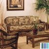 Hospitality Rattan St. Lucia Antique Stationary Sofa