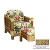 Hospitality Rattan Aloha Natural Accent Chair