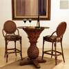 Hospitality Rattan Oyster Bay TC Antique Dining Set