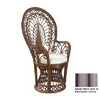 Hospitality Rattan Antique Accent Chair