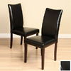 Warehouse of Tiffany Set of 8 Shino Light Cappuccino Dining Chairs