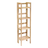 Winsome Wood Natural 51.5-in 4-Shelf Bookcase