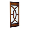 Wayborn Furniture 16-in x 40-in Brown Rectangular Framed Mirror