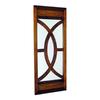 Wayborn Furniture Fish 16-in x 40-in Brown Rectangle Framed Wall Mirror