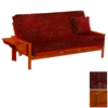 Night & Day Furniture Standard Honey Oak and Rosewood Futon
