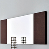 Rossetto USA 51.2-in x 19.7-in Wenge Rectangular Framed Mirror